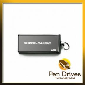 Pen Drive Super Talent 4GB Personalizado Elite